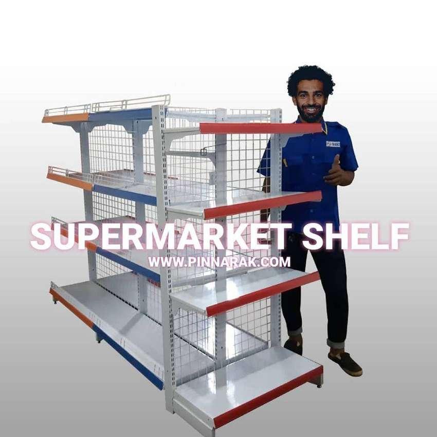 Rak Gondola Toko Minimarket Supermarket Swalayan Petshop, Meja Kasir 0