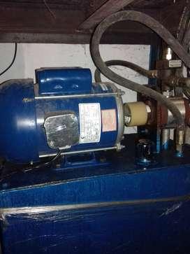 Buffy plate hydrolic machine