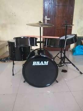 drum mini drum komplitan cocok buat ank 4thun-SMP..