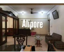 3bhk 3bath fully furnished flat available for rent in alipore