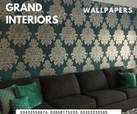 Get designer wallpapers by Grand interiors