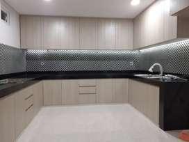 Kitchen Set   Anti Rayap dan Anti Air PVC Kuat  Seumur Hidup .