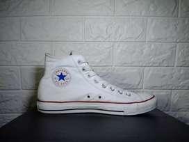 Converse optical white leather