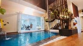 Rumah lux ada kolam renang di borobudur dekat suhat plus furniture