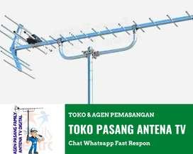 Gudang Instalasi Pasang Baru Antena Tv Canggih Antena Untuk Smart Tv