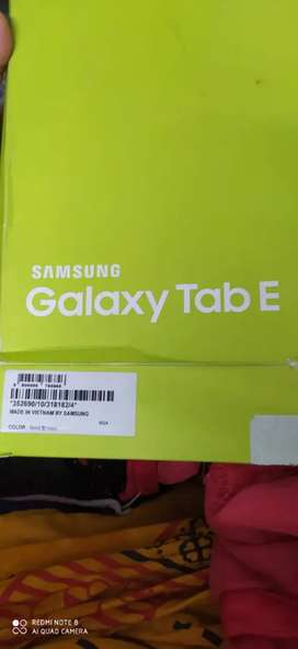 SAMSUNG  GALAXY TAB E SM-T561 WI-FI+3G TABLET BOX PIECE ON DAY USE