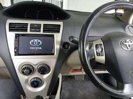 Double Din TV plus frame Toyota Vios gen 2
