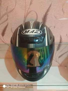 Helm MAZ Full Face ( Black Dove )