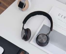 #Headphone / Headset Bluetooth Wireless Noise Cancelling H8 B&O