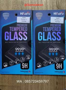 Premium Tempered Glass 9H Iphone 11 Full set
