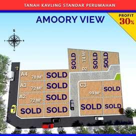 Punya Tanah Kavling Rumah Mudah Murah Amanah, 2Jutaan LT 74m2, Depok