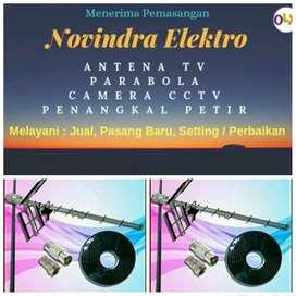 Pusat jual pasang antena tv murah lokasi Bekasi Utara