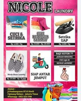 Karyawan Laundry Beepengalaman