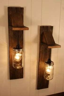 Indian Wall lamp
