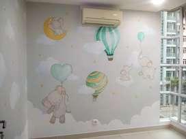 Jual dan psang wallpaper rumah
