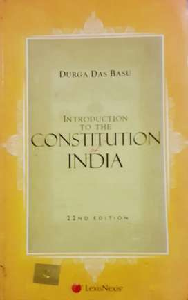 The constitution of india(DDBasu)
