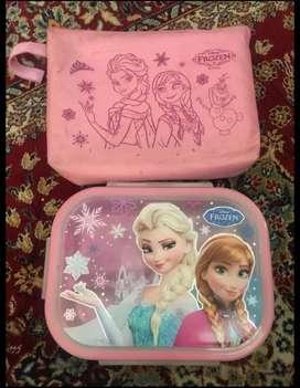 Tempat makan (lunch box) tahan panas Frozen Original