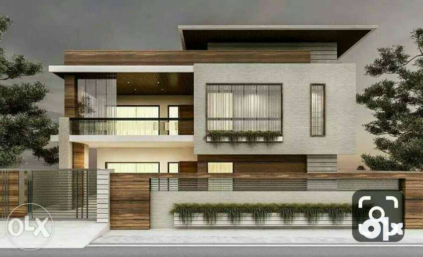 Plots, new built house,construction facility and renovation work 0