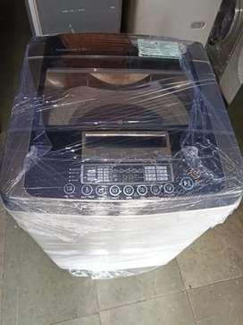 L.G 7.5 kg turbo fuzzy logic latest model fully automatic washing mach