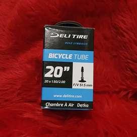 Ban dalam sepeda 20 x 1.50 20 murni fresta presta