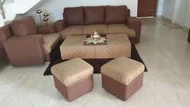 Cushion sofa set( price negotiable)