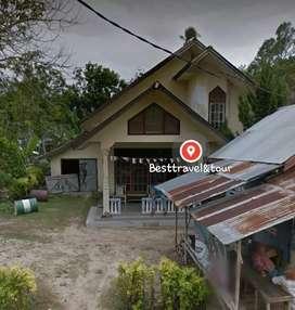 murah dekat pantai Tanah + rumah di desa tanjung tinggi belitung