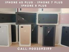 iPhone 6s Plus, iPhone 7 Plus , iPhone 8 Plus - No Cost EMI - 0%EMI