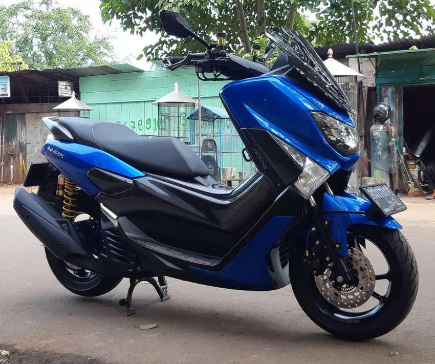 Yamaha Nmax non Abs 2019 biru 0