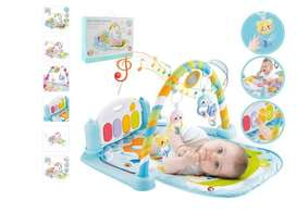 Baby fitness gym play piano 5in1