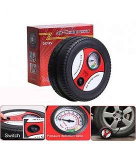 Tire Shape Brand new AIR PUMP-COMPRESOR for car tire-12V Free delivery