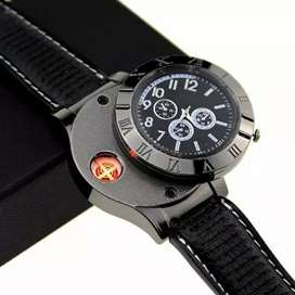 jam tangan pria dengan korek api (USB)