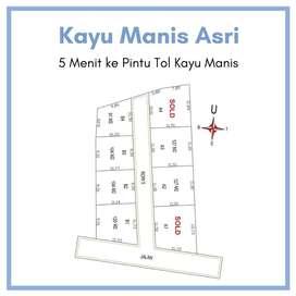 Kapling Area Kayu Manis Dekat Lotte Mart; Hanya 1 Juta-an