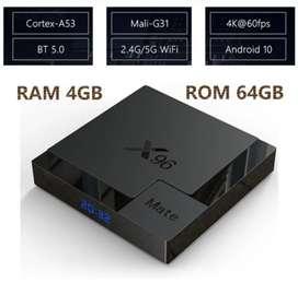 Smart TV Box X96 Mate 4GB/64GB Android 10