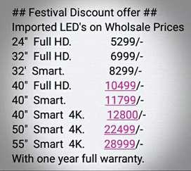 Imported LED TV wholesale