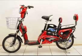 Sepeda listrik bisa antar dan bayar di rumah