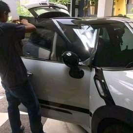 Melayani Pasang kaca film mobil panggilan