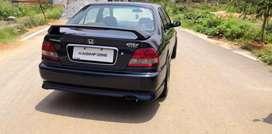 Honda city type2 vtec spoiler 2000-2003 model