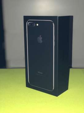 IPHONE 7 PLUS JET BLACK 128 GB EX GARANSI RESMI IBOX