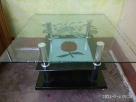 Tea Table with Glass upper