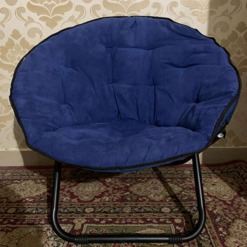Mainstays Microsuede Saucer Chair 0