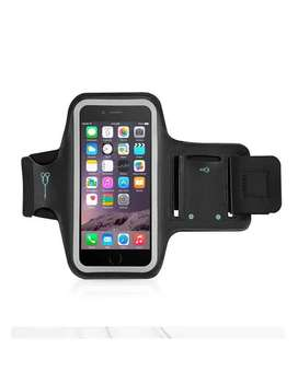 Mobile Sports Running Arm Band - Black