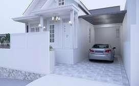 Rumah baru di ngaliyan tanah luas 200m, harga mumer view kota semarang