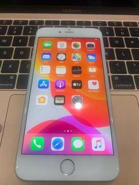 iphone 6s+ silver 32gb garansi resmi ibox
