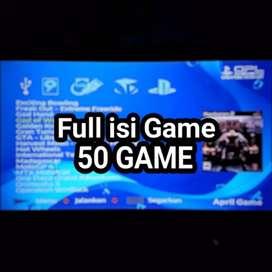 Flashdisk 32GB Fullgame isi 50 GAME PS2