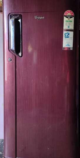 Whirlpool single door fridge