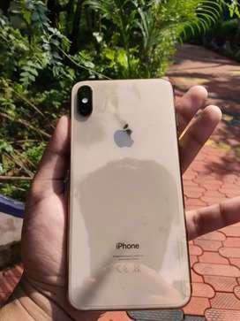 I phone xs max 64gb gold 3 month warranty