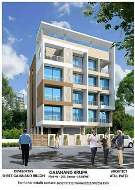 Available 1bhk flat opposite bamandongri station