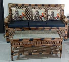 Sofa Set made from Bamboo can