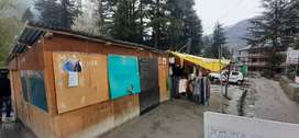 Shop for Rent in Hadimba Road Manali