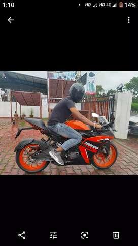 Rc ktm125 bike